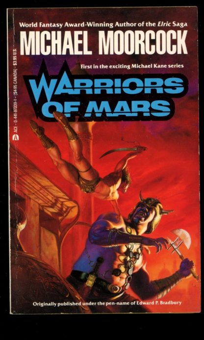 Warriors Of Mars - 1st Print - 03/91 - VG - Ace