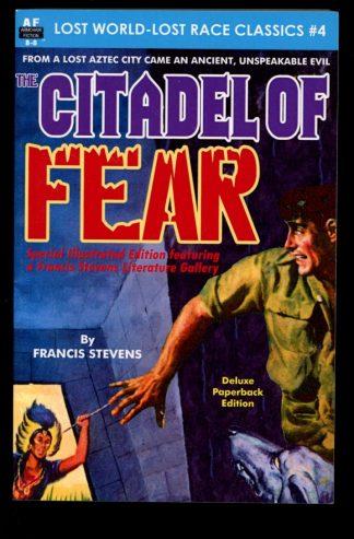 Citadel Of Fear - B-8 - #4 – POD - -/15 - FN - Armchair Fiction