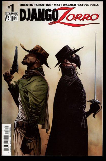 Django/Zorro - #1 – CVR A - 11/14 - 9.2 - Dynamite