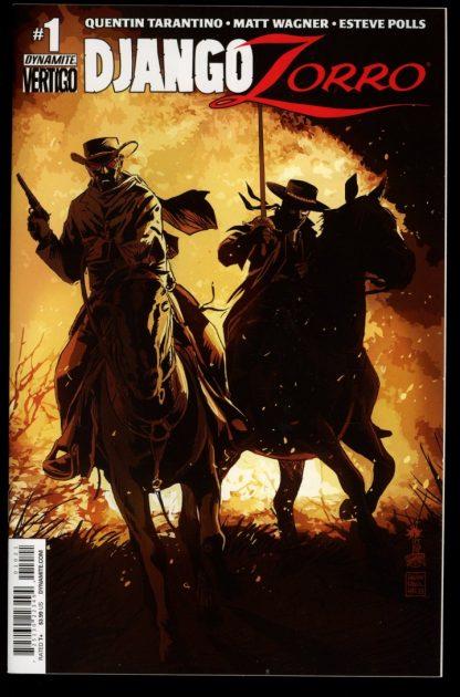 Django/Zorro - #1 – CVR B - 11/14 - 9.6 - Dynamite