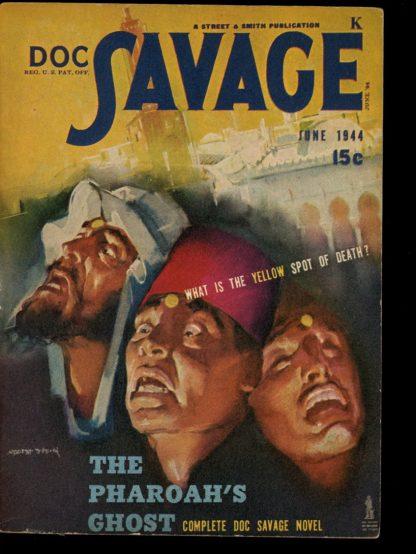 Doc Savage - 06/44 - 06/44 - FN-VF - Street & Smith