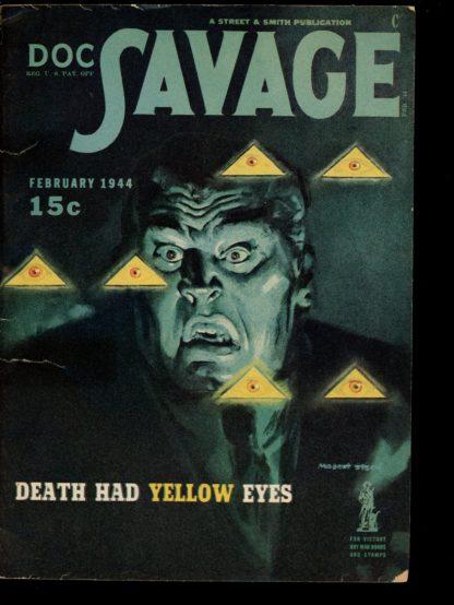 Doc Savage - 02/44 - 02/44 - VG - Street & Smith