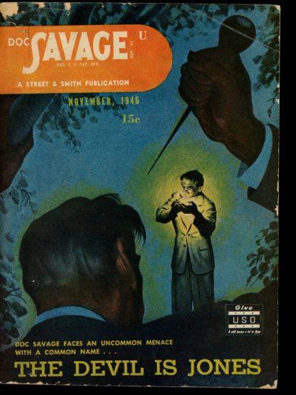 Doc Savage - 11/46 - 11/46 - G-VG - Street & Smith
