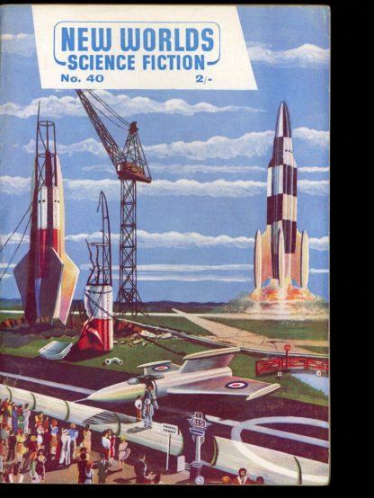 New Worlds Science Fiction - 10/55 - 10/55 - FN - Nova Publications