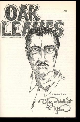 Oak Leaves - #16 - SUMMER/82 - FN - Krafthaus
