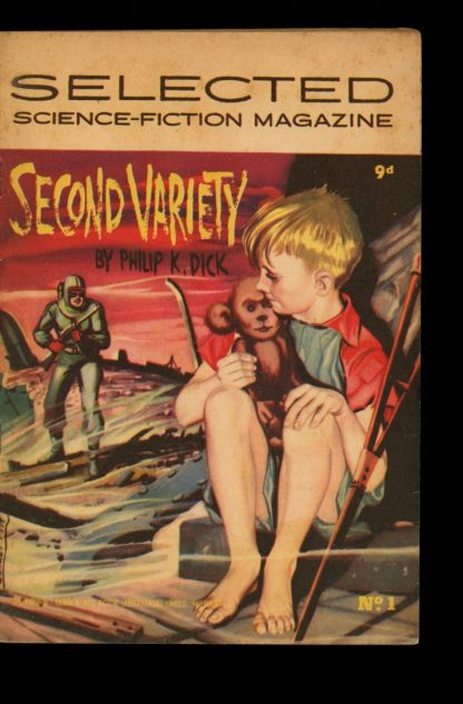 Selected Science-Fiction Magazine - #1 - -/55 - VG - Gordon and Gotch