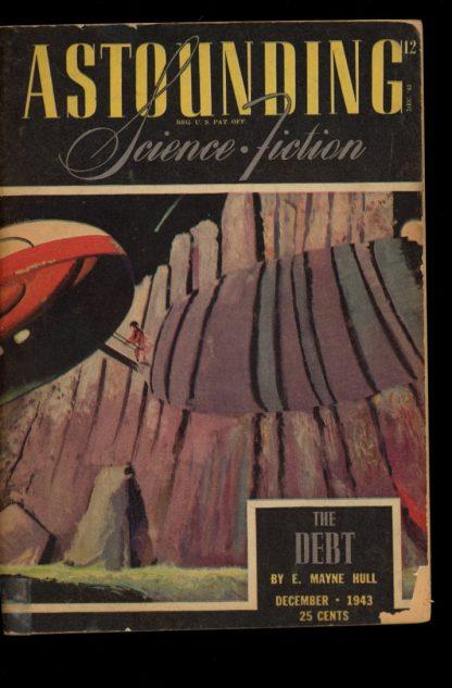 Astounding Science-Fiction - 12/43 - 12/43 - G-VG - Street & Smith