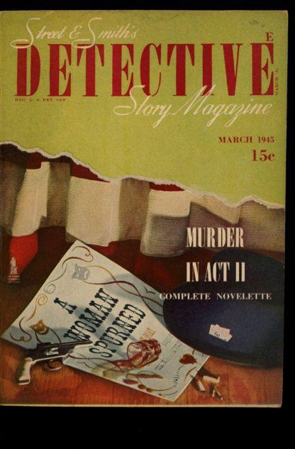 Detective Story Magazine - 03/45 - 03/45 - VG-FN - Street & Smith