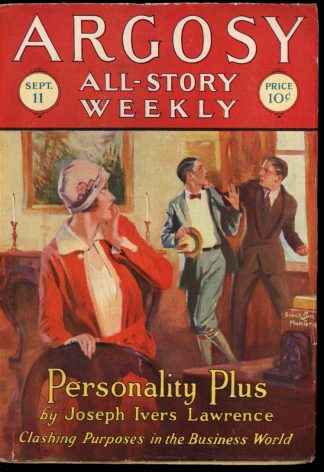 Argosy All-Story Weekly - 09/11/26 - 09/11/26 - FN - Frank A. Munsey