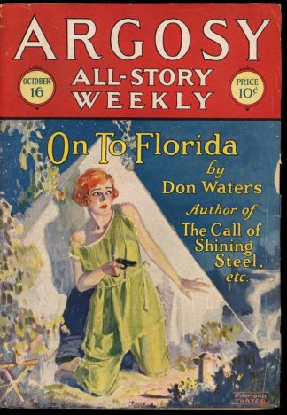 Argosy All-Story Weekly - 10/16/26 - 10/16/26 - VG-FN - Frank A. Munsey