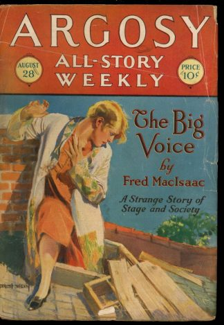 Argosy All-Story Weekly - 08/28/26 - 08/28/26 - G - Frank A. Munsey