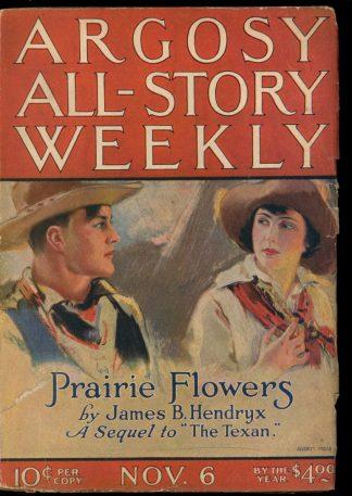 Argosy All-Story Weekly - 11/06/20 - 11/06/20 - G-VG - Frank A. Munsey