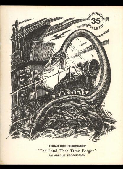Burroughs Bulletin - #35 - 03/74 - VG-FN - Vern Coriell