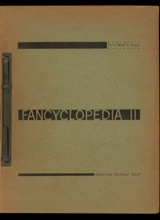 Fancyclopedia II - 1959 - -/59 - VG - Operation Crifanac