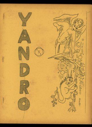 Yandro - #151 - 09/65 - VG - Robert Coulson
