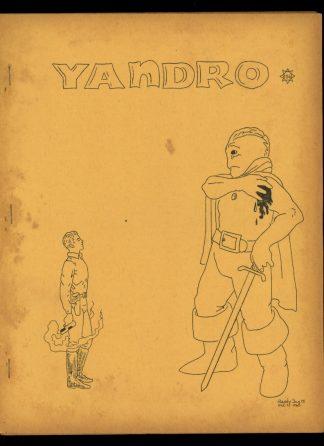 Yandro - #156 - 02/66 - VG - Robert Coulson