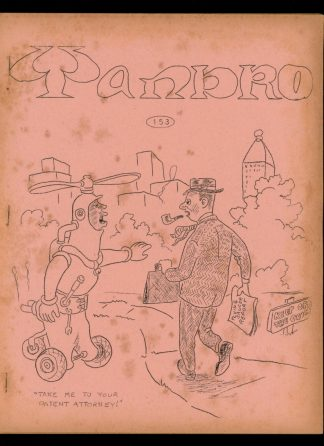 Yandro - #153 - 11/65 - VG - Robert Coulson