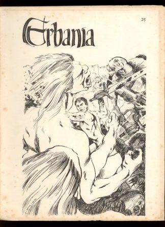 Erbania - #25 - 03/70 - G-VG - D. Peter Ogden