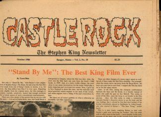 Castle Rock: The Stephen King Newsletter - 10/86 - 10/86 - VG - Castle Rock