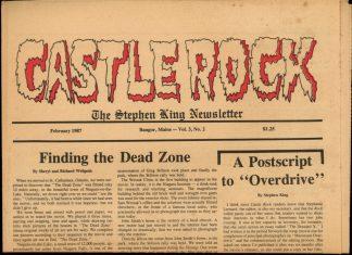 Castle Rock: The Stephen King Newsletter - 02/87 - 02/87 - VG - Castle Rock