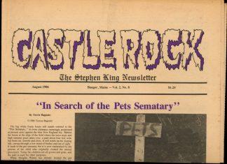 Castle Rock: The Stephen King Newsletter - 08/86 - 08/86 - VG - Castle Rock