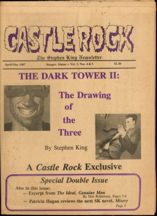 Castle Rock: The Stephen King Newsletter - 04-05/87 - 04-05/87 - VG - Castle Rock