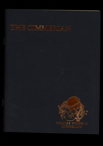 Cimmerian - #21 - #17 OF 75 - 10/06 - FN - Leo Grin