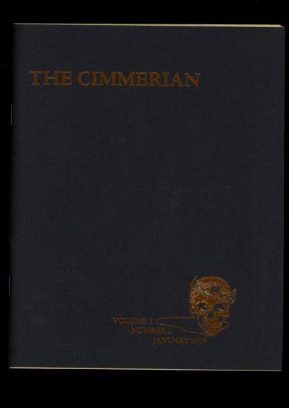 Cimmerian - #12 - #25 OF 75 - 01/06 - FN - Leo Grin