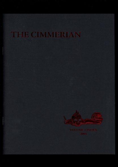 Cimmerian - V.1 INDEX - #41 OF 75 - -/04 - FN - Leo Grin