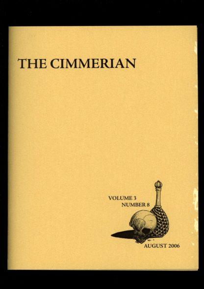 Cimmerian - #19 - #107 OF 250 - 08/06 - G-VG - Leo Grin