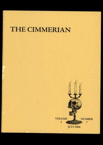 Cimmerian - #18 - #111 OF 250 - 07/06 - G-VG - Leo Grin