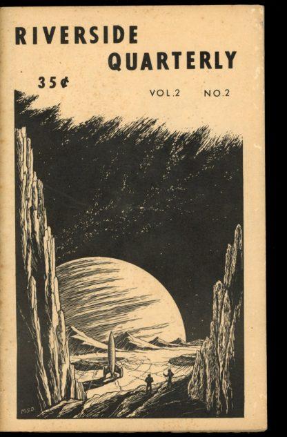 Riverside Quarterly - 06/66 - 06/66 - G-VG - Leland Sapiro
