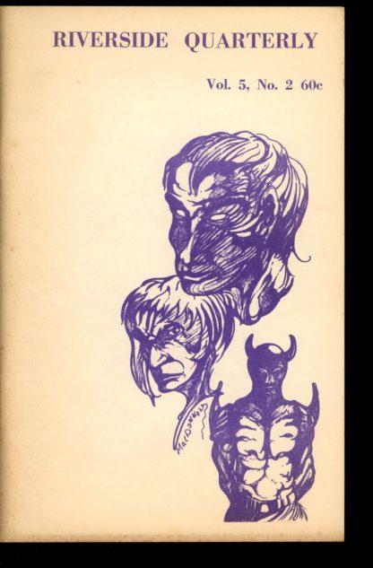 Riverside Quarterly - 02/72 - 02/72 - VG-FN - Leland Sapiro