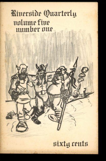 Riverside Quarterly - 07/71 - 07/71 - VG-FN - Leland Sapiro