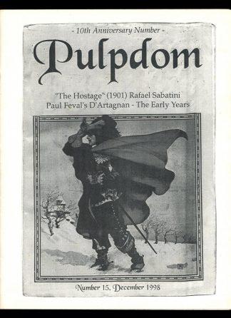 Pulpdom - #15 - 12/98 - VG-FN - Camille Cazedessus