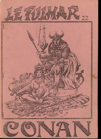Le Fulmar Conan - #22 - 07-08/83 - VG - Marianne Leconte
