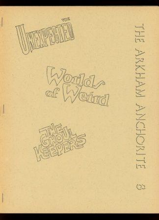 Arkham Anchorite - #8 - CANDLEMAS/76 - FN - EOD