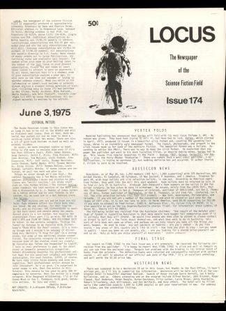 Locus - #174 - 06/03/75 - VG - Locus Publications