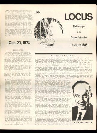 Locus - #166 - 10/23/74 - VG - Locus Publications