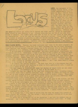 Locus - #153 - 01/05/74 - VG - Locus Publications