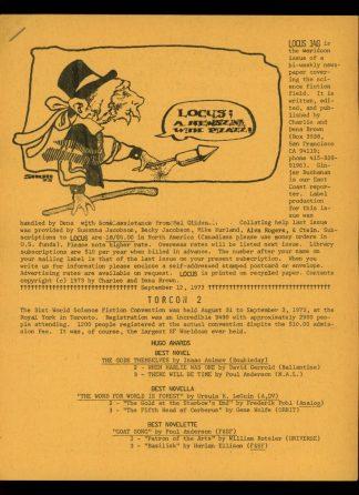Locus - #148 - 09/12/73 - VG - Locus Publications