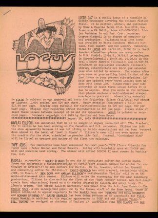 Locus - #147 - 08/19/73 - VG - Locus Publications