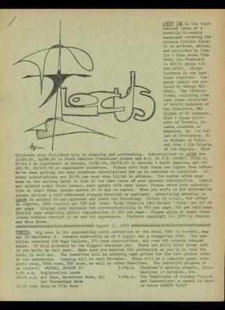 Locus - #146 - 08/12/73 - VG - Locus Publications