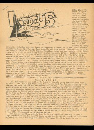 Locus - #145 - 07/07/73 - VG - Locus Publications