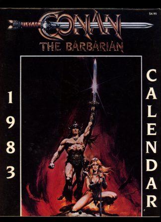Conan The Barbarian 1983 Calendar - 1983 - -/83 - VG-FN - Curtis Circulation