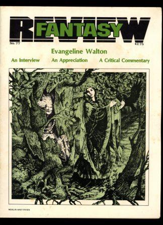 Fantasy Review - #77 - 03/84 - VG - Florida Atlantic Unversity