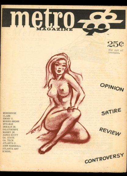 Metro Magazine - #1 - 11/68 - VG - Joe Celko