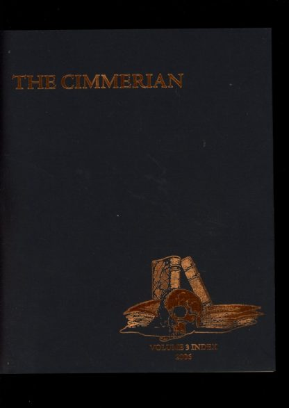Cimmerian - VOL.3 INDEX - #26 - -/06 - FN - Leo Grin