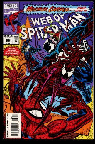 Web Of Spider-Man - #103 - 08/93 - 9.4 - Marvel