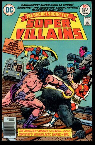 Secret Society Of Super Villains - #4 - 12/76 - 9.2 - DC